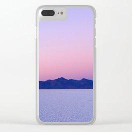 Dawn on the Salar de Uyuni Clear iPhone Case