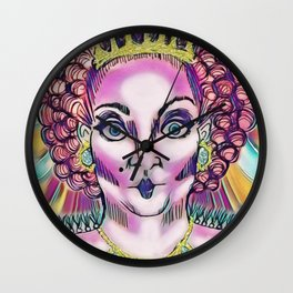 Queen Aggrivated. Wall Clock