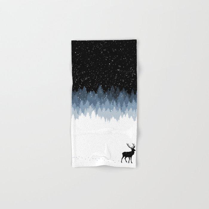 Winter Night Hand & Bath Towel