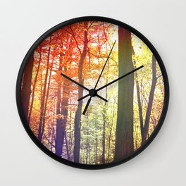 Forest Friends 2.0 Wall Clock