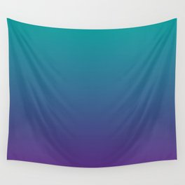 Ombre | Teal and Purple Wall Tapestry