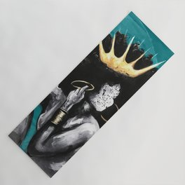 Naturally Queen VI  TEAL Yoga Mat