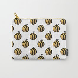 Bee Polka Dot Carry-All Pouch