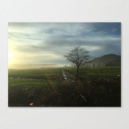 Oregon Countryside Canvas Print