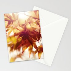 Autumn light Stationery Cards