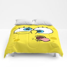 Spongebob Crazy Face Comforters