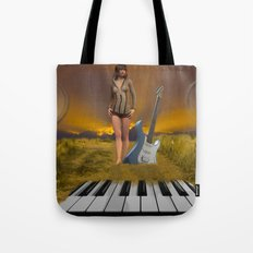 Sands of Music Tote Bag