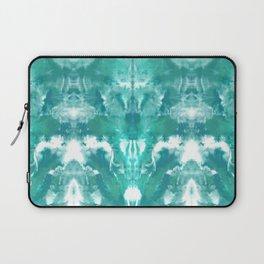 Aqua Blue Lagoon Laptop Sleeve