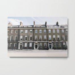 Bloomsbury Houses (London, England) Metal Print