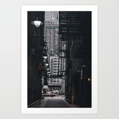 Loop Alley Art Print