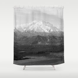 Mt McKinley Shower Curtain