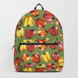 Bell Peppers Pattern Backpack