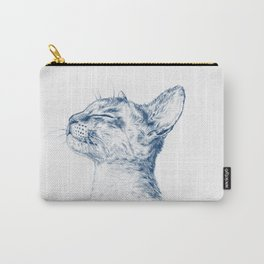 Cute chilling cat Carry-All Pouch