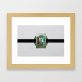 As Fast As They Came Framed Art Print