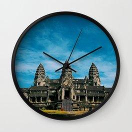 Angkor Wat Temple Cambodia Wall Clock