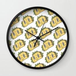 Taco Buddy Wall Clock