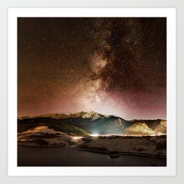 Prospect Milky Way Art Print