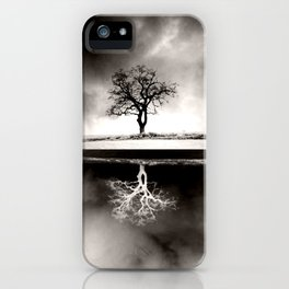 SOLITARY REFLECTION iPhone Case