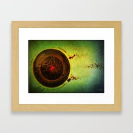 The Cup. Framed Art Print