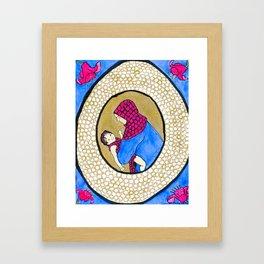 Icons of American Motherhood 1 Framed Art Print