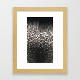 Dog Tags Framed Art Print