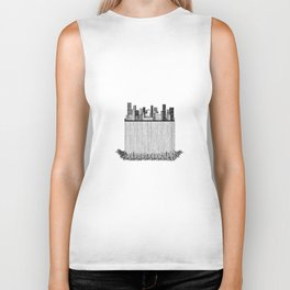 City with roots Biker Tank