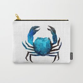 Cerulean blue Crustacean Carry-All Pouch