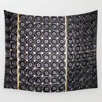 wine Wall Tapestries featuring Wine by Alev Takil