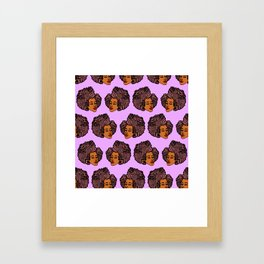 Tomi Repeat Pattern Framed Art Print
