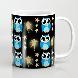 Owl Pattern Coffee Mug