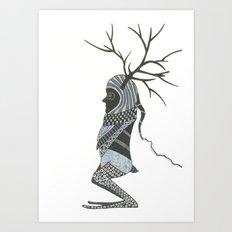 woodman Art Print