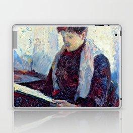 """Henri de Toulouse-Lautrec """"""""Femme in a café"""" Laptop & iPad Skin"""