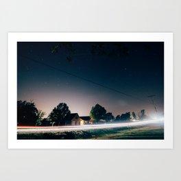 Night Sky 02 Art Print