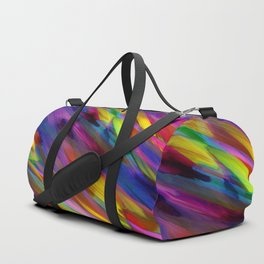 Colorful digital art splashing G398 Duffle Bag