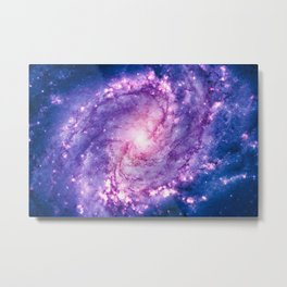 Cosmic vacuum cleaner (Spiral Galaxy M83) Metal Print