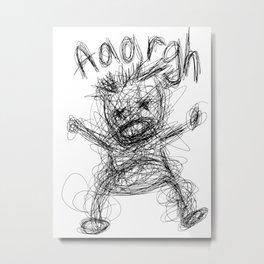 Aaargh!! Metal Print