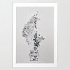 Dinah Art Print