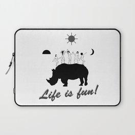 Dances on Rhino Laptop Sleeve