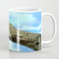 castle in the sky Mugs featuring Castle by Brian Raggatt
