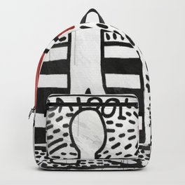 Expressionism Haring 1981 USA Untitled Pop Art King - K. Allen H. NYC - LA - MIAMI - Art Basel Backpack