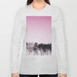 Lovely pink sky Long Sleeve T-shirt