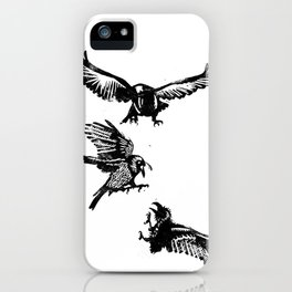 Crow Parliament iPhone Case