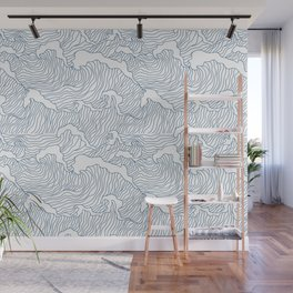 Japanese Wave Wall Mural