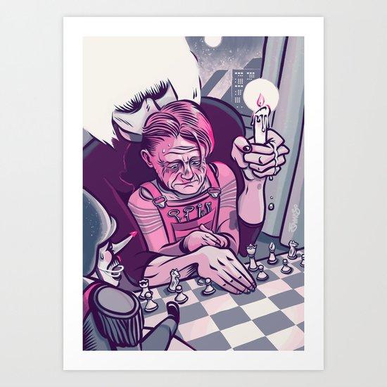 James O Art Print
