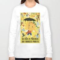 portugal Long Sleeve T-shirts featuring Portugal by Kathead Tarot/David Rivera