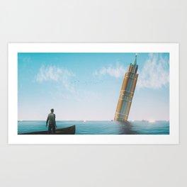 Acqua Alta Art Print