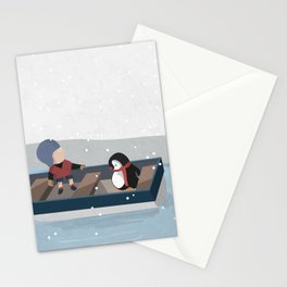 Reaching the South Pole Stationery Cards