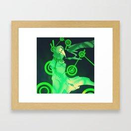 Dark Sights Framed Art Print