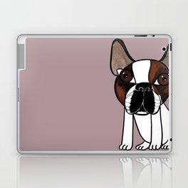 Joey, the french bulldog that thinks he's human Laptop & iPad Skin