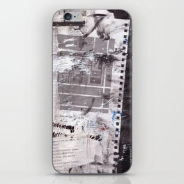 Letter to Paris iPhone Skin